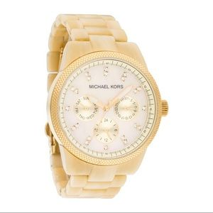 Michael Kors Ritz Horn Watch